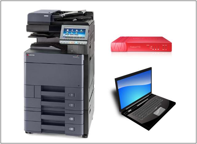 ●カラーコピー機(40枚機)<br /> ●UTM<br /> ●パソコン