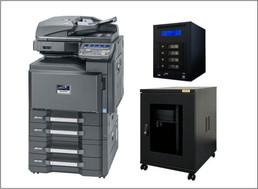 ●カラーコピー機(30枚機)<br /> ●ファイルサーバー<br /> ●サーバーラック