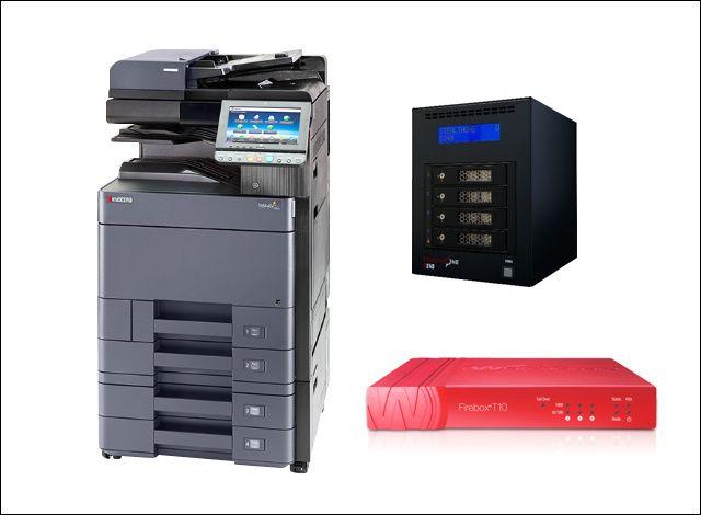 ●カラーコピー機(32枚機)<br /> ●UTM<br /> ●ファイルサーバ